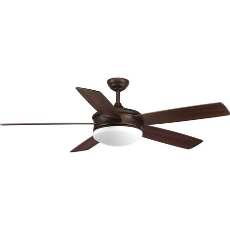 Progress Lighting Ceiling Fans Progress Lighting Fresno Collection 60 In Led Antique Bronze Ceiling Fan P2548 2030k The Home