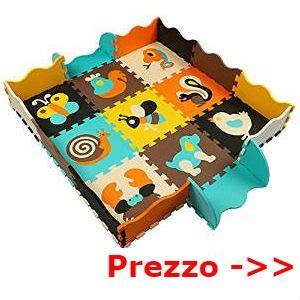tappeto gomma per bambini tappeti per colorare e giocare in casa con lettere e disegni
