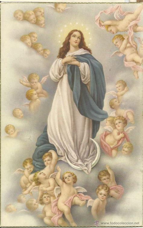 imagenes religiosas online antigua postal religiosa a color de la virgen c comprar
