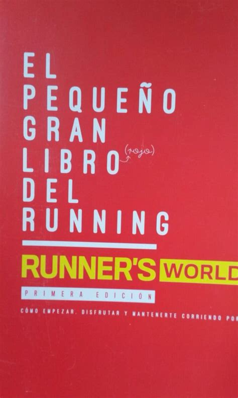 el peque 241 o gran libro rojo del running libros running