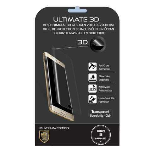Samsung Screen Protector For Galaxy S8 Plus Transparant Clear verre tremp 233 samsung galaxy s8 ultimate 3d clear