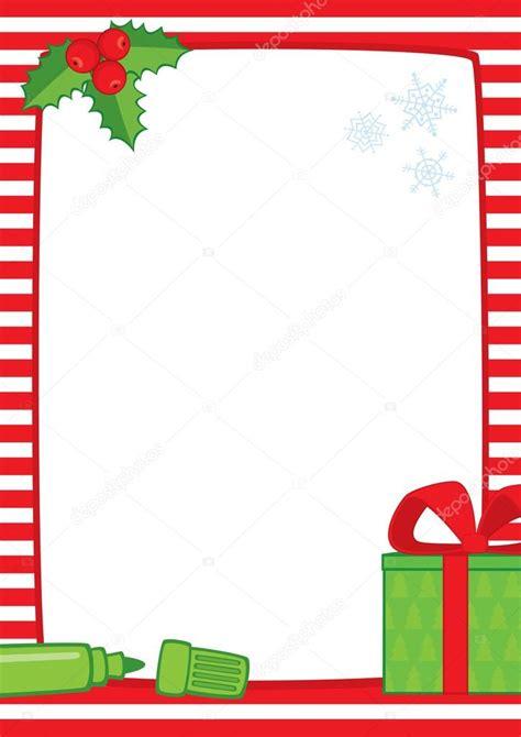 cornice a3 strisce di natale cornice marcatori regalo a3 vettoriali