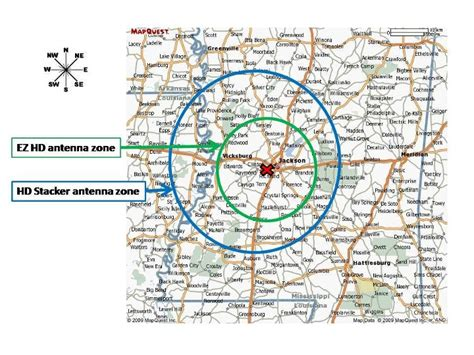 hd antenna map best tv antenna for jackson ms tv stations