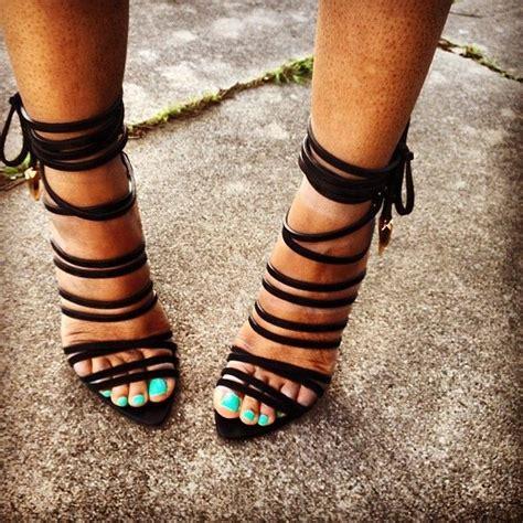 black lace up high heels black lace up sandal heels qu heel