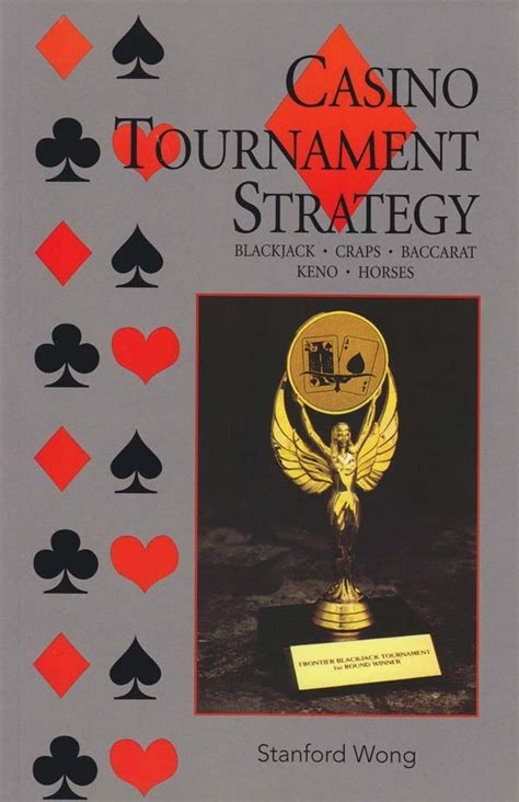 casino tournament strategy  stanford wong book read