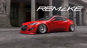 Kits For Hyundai Genesis Coupe Remake Kit For Hyundai Genesis Coupe