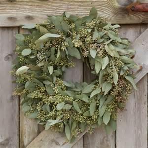 Indoor Herbal Garden - seeded eucalyptus wreath terrain
