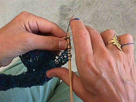 lever knitting knitting method lever style knitting method