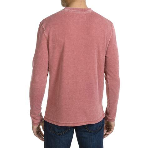 waffle knit shirt jkl waffle knit henley shirt for save 79