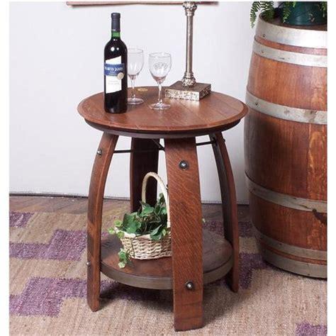 wine barrel end table furniture gt living room furniture gt table gt wine barrel table