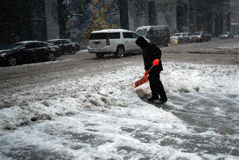 shoveling snow can kill men canadian study finds nbc news