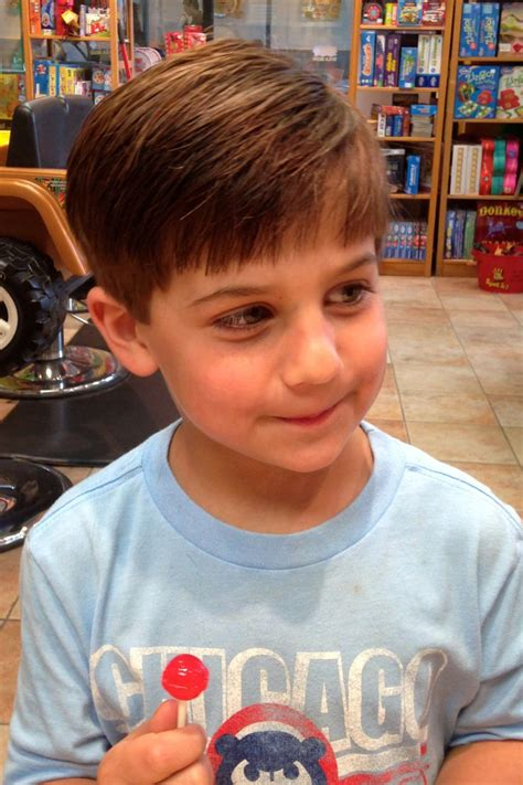 Classic look ~ haircut for boys KidSnips.com   KidSnips