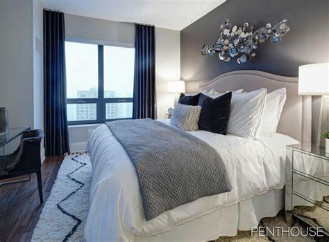 navy master bedroom 25 best ideas about navy bedroom decor on pinterest 12684 | 4583cbdcbf5d9ef9638795f7d63df4f0