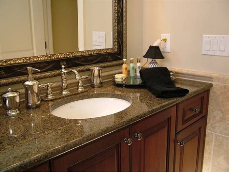best material for bathroom countertops granite vanity tops home depot roselawnlutheran
