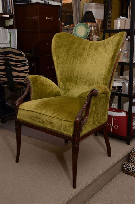 Butterfly Wing Back Chair by Butterfly Wing Chair At 1stdibs