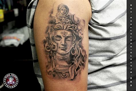 shiva tattoo best tattoo artist in india black poison