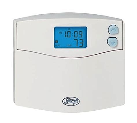 hunter fan company thermostat hunter 44157 5 2 day digital programmable thermostat