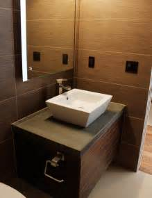 vanity with vessel sink modern bathroom vanities and
