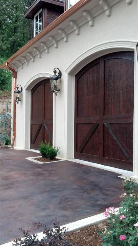 Door Garage To House by Carriage House Garage Doors By C H I For The Home