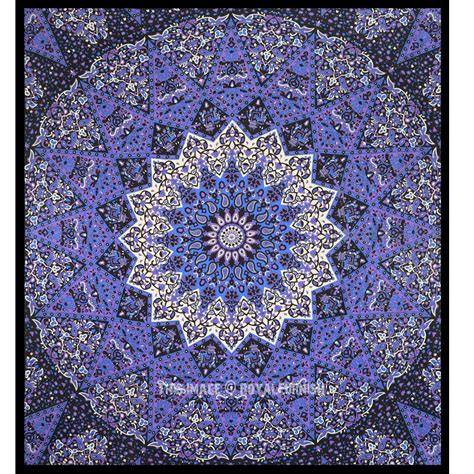 colorful tapestry colorful 3 d mandala tapestry psychedelic hippie
