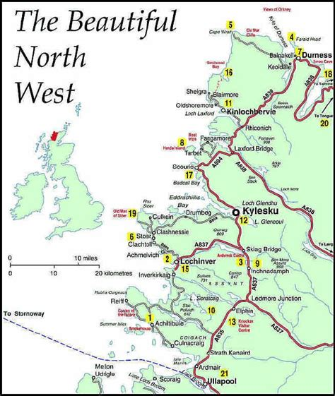 west highlands tourist route scotland scottish