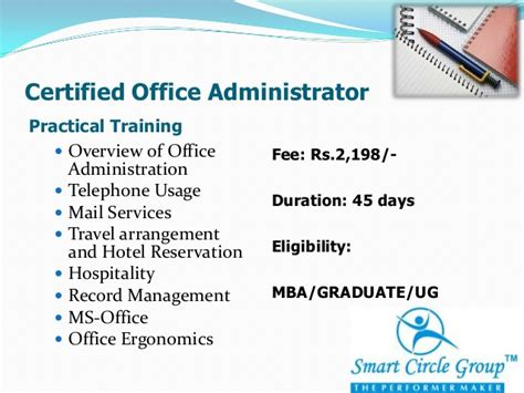 Mba Hotel Management Salary by Smart Circle Solutions