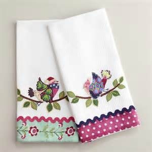 Embroidery Designs For Kitchen Towels 2017 2018 Best
