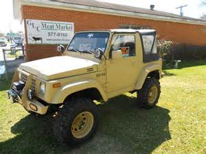 1986 Suzuki Samurai For Sale 1986 Suzuki Samurai Trucks Other For Sale In Lafayette