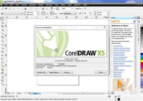 corel draw x5 tools list corel draw x5 serial key and activation code free download
