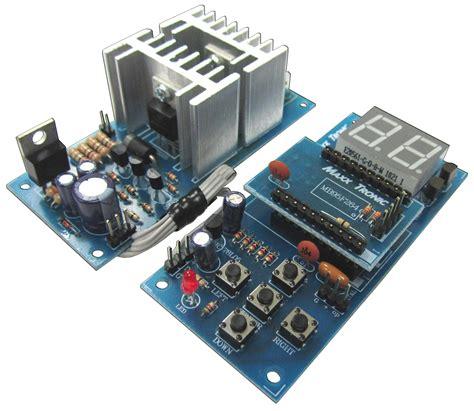 Kit Auto Soft Start Bgr motor circuits mxa087 dc speed max wiring