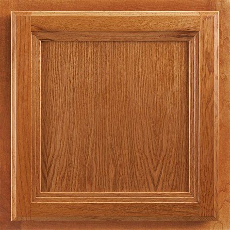 Cabinet Doors Oak American Woodmark 13x12 7 8 In Cabinet Door Sle In Ashland Maple Honey 99920 The Home Depot
