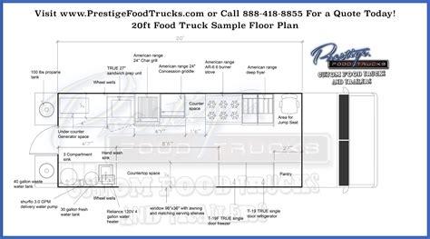 truck cer floor plans custom food truck floor plan sles custom food truck