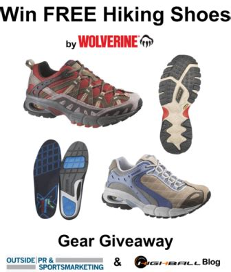 Free Shoe Giveaway - gear giveaway win free hiking shoes from wolverine on highball blog