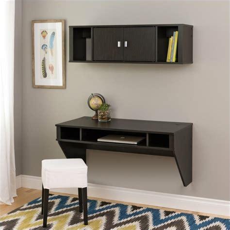 bureau de travail maison bureau suspendu de beaux exemples de petits meubles