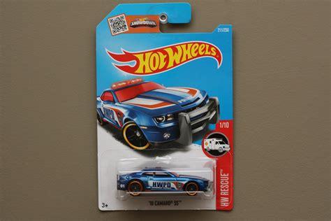 wheels 2016 hw rescue 10 camaro ss blue