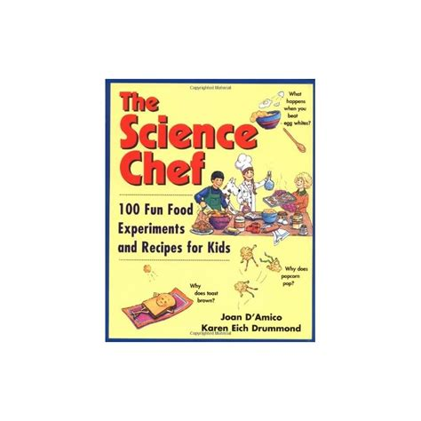 libro fundamentals of robotics fun the science chef 100 fun food experiments and recipes for kids english wooks