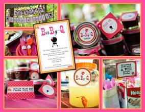 Bbq Baby Shower Favors by Baby Q Coed Baby Shower Bbq Whole Pack Pink Orange