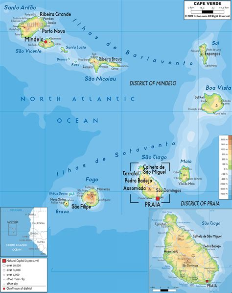 cape verde on a world map cape verde map where in the world