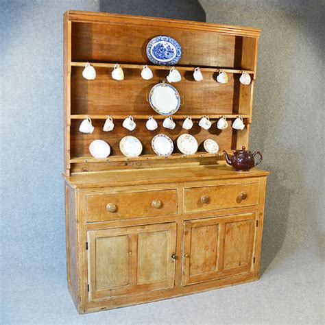 pine dresser country kitchen display rack antiques