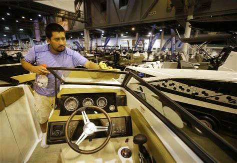 houston boat show sales houston summer boat show attendance sales suggest strong