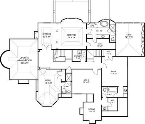 european style house plan 5 beds 7 00 baths 6000 sq ft 6000 sq ft home plans