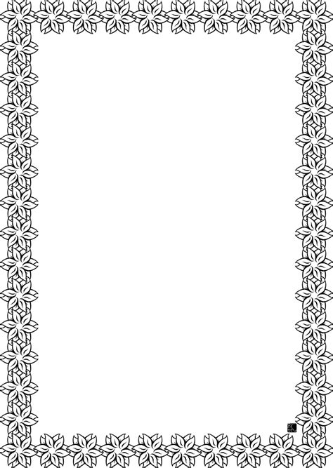 bordi e cornici carta pergamena da colorare bordi e cornici