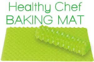 xm works inc 187 healthy chef baking mat