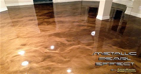 Metallic Pearl Effect Epoxy: Take Your Flooring to the