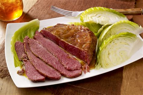 easy corned beef brisket recipe corned beef brisket with cabbage kraft recipes