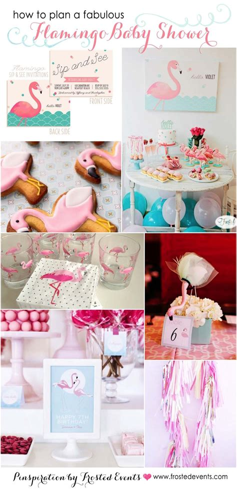 fabulous baby shower themes flamingo ideas
