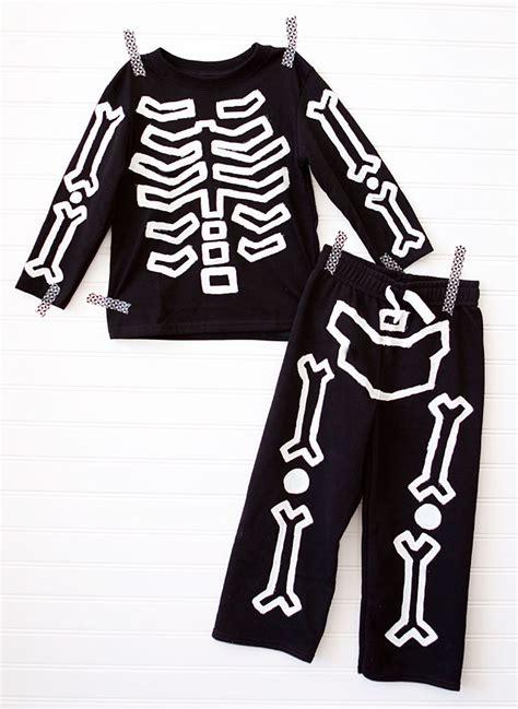 diy glow in the skeleton costume tutorial