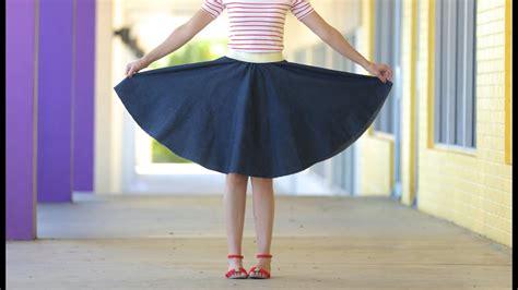 circle skirt   age  size youtube