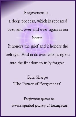 forgiveness quotes how to give and receive the power of spiritual forgiveness quotes and how to forgive someone