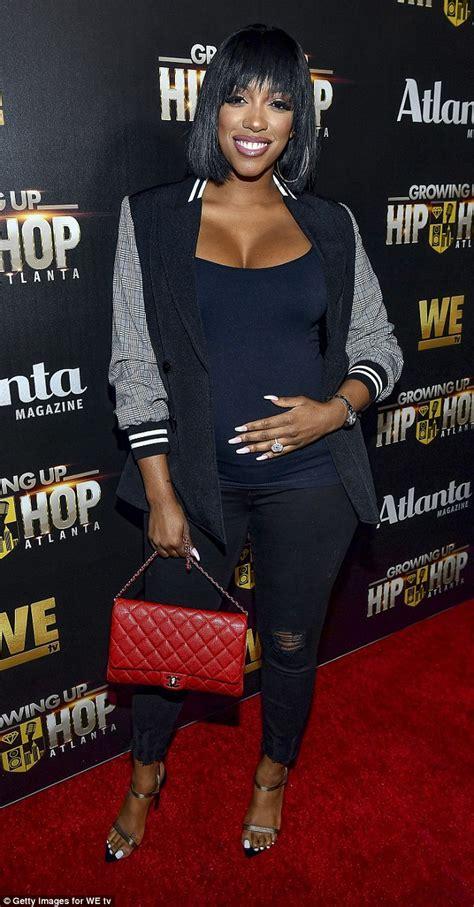 porsha williams diamond ring porsha williams and kenya moore show off baby bumps as the